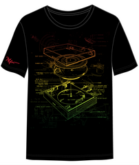 Turn Table Tshirt (reggae)