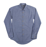 Slim Button Down - Dark Chambray