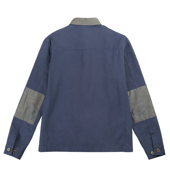 Signature Shirt Jacket - Blue