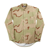 Slim Button Down - Camouflage