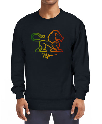 RAS Full Body Lion Sweatshirt - Black