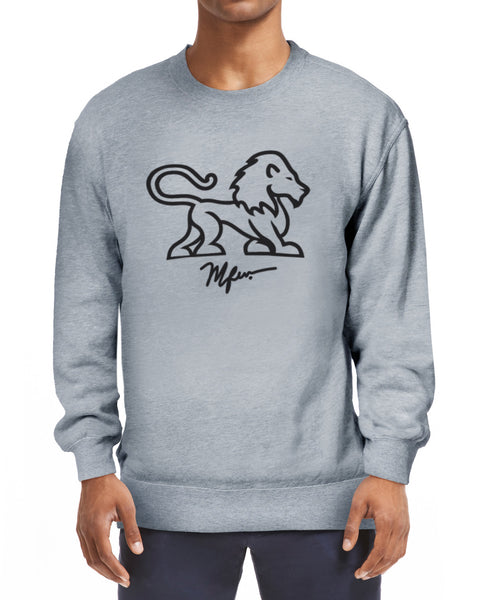 RAS Full Body Lion Sweatshirt - Grey