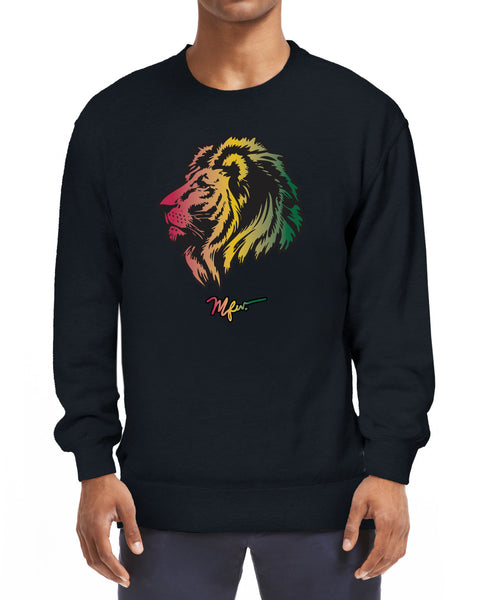 RAS Lion Head Sweatshirt - Black