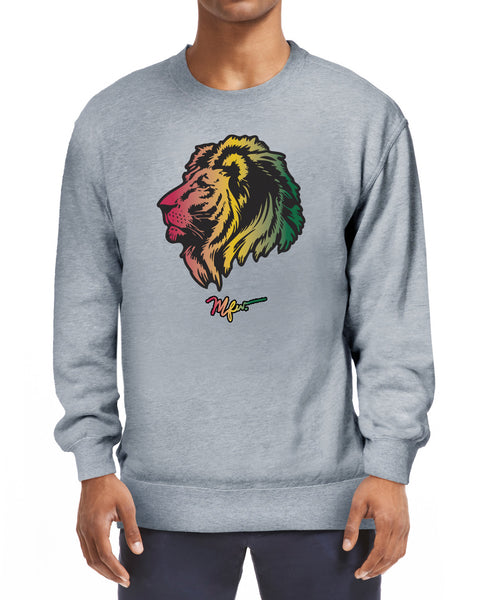 RAS Lion Head Sweatshirt - Grey