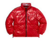 Load image into Gallery viewer, Shiny Reversibe Puffy Jacket