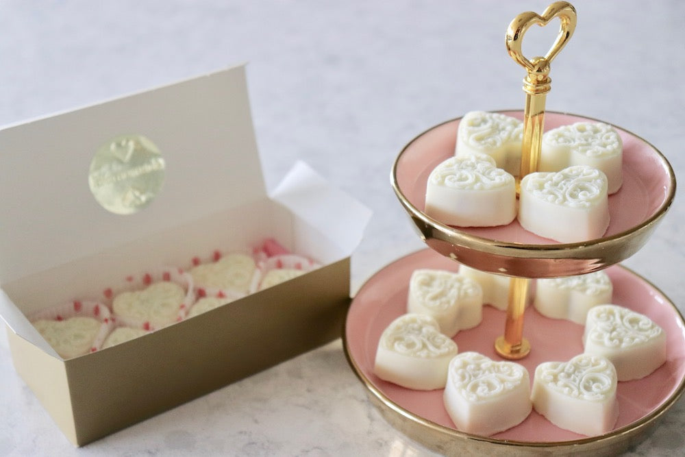 Cookies and Cream White Chocolates for Valentine's Day