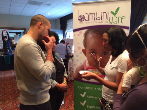 Jesse Wiliams Loves BambiniWare at the Pre-Golden Globes Boom Boom Room