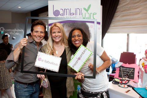 Scott Wolf Loves BambiniWare at the Pre-Golden Globes Boom Boom Room!