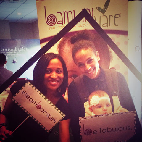 Marsha Thomason with BambiniWare at Pre-Golden Globes Boom Boom Room
