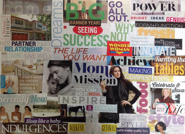 How to Design a Vision Board of Your Ideal Life