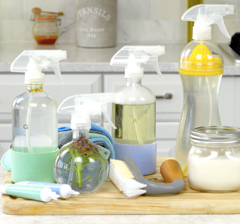 How to Make All-Natural Spring Cleaning Products