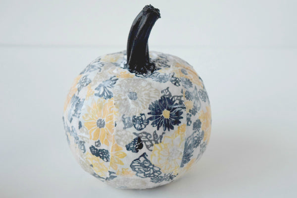 Decoupage Pumpkin 4