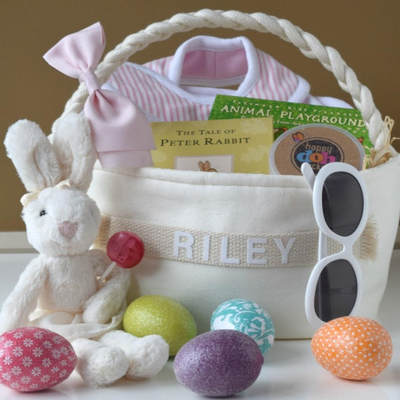 A Fabulously Chic Designer Easter Basket for Kids