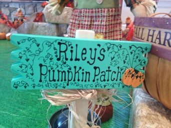 Family Fun: Our DIY Pumpkin Patch 1st Birthday Party