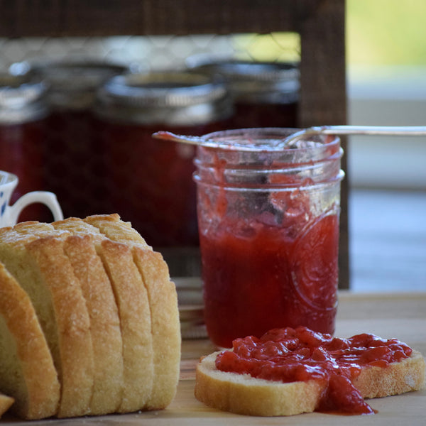 Homemade Strawberry Jam (Toddler Chef-Friendly)