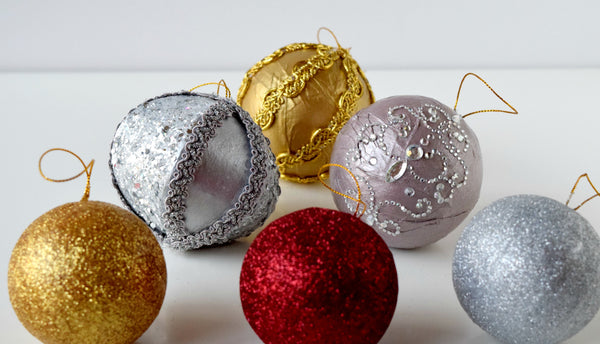 Unbreakable Christmas Ornaments
