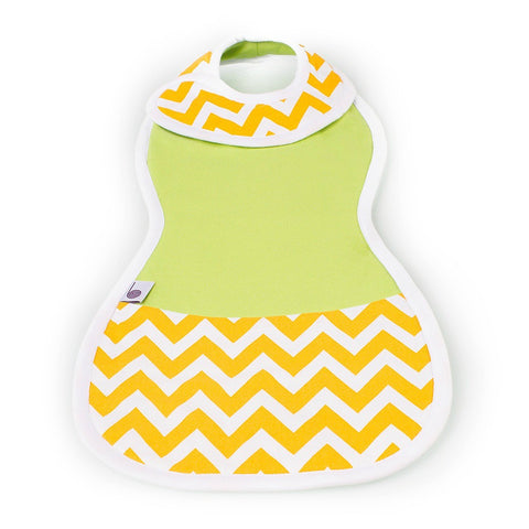 The Burpa Bib™ in Lime Time
