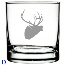 Load image into Gallery viewer, Laser Etched Glasses Hunting Motif