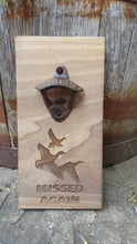 Load image into Gallery viewer, Personalised Wall Mount Bottle Opener Laser Engraved