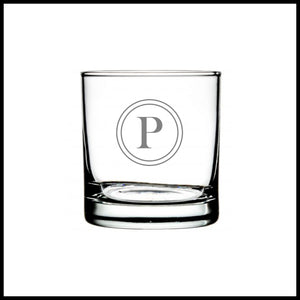 Personalized Whiskey Glass