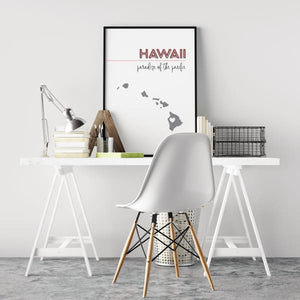Customizable Hawaii state art - Customizable