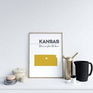 Customizable Kansas state art - Customizable