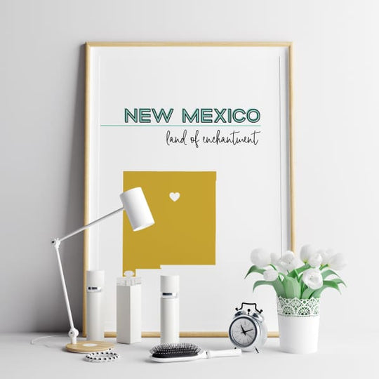 Customizable New Mexico state art - Customizable