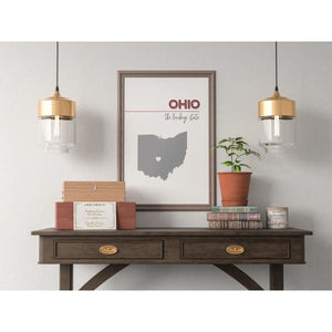 Customizable Ohio state art - Customizable