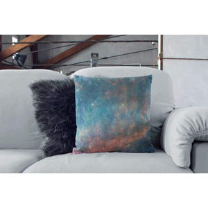 Nantucket Collection | Pink and Blue galaxy throw pillow - Pillows