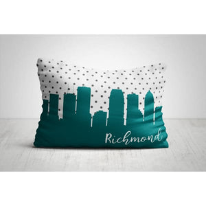 Richmond Virginia polka dot skyline - Polka Dot Skyline