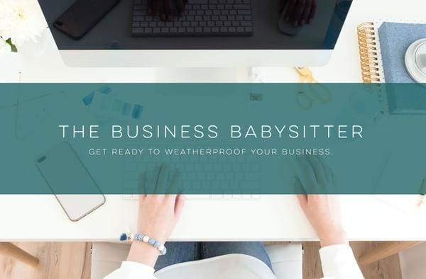 The Business Babysitter  -  Get Ready to Weatherproof your Business