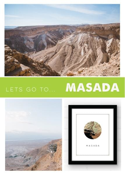 travel guide to Masada Israel