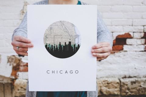 ChicagoPosterArt_PaperFinchDesign