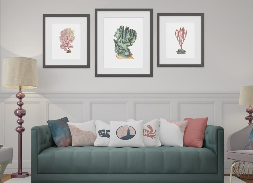 Nantucket - a modern coastal decor collection