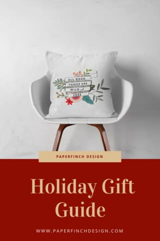PaperFinch Design Holiday Gift Guide 2018