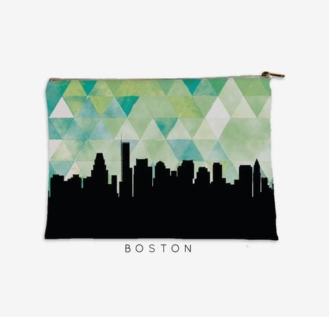 Boston Geo Skyline Pouch