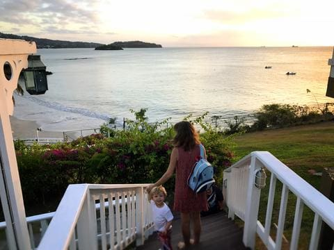 Taking a Toddler Abroad: Part Two our St. Lucia vacation with a toddler