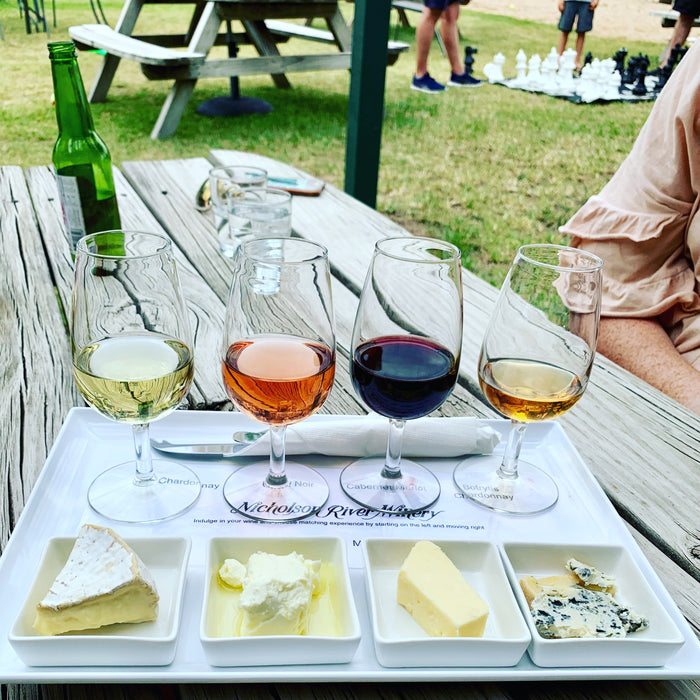 On Wine & Cheese Matching