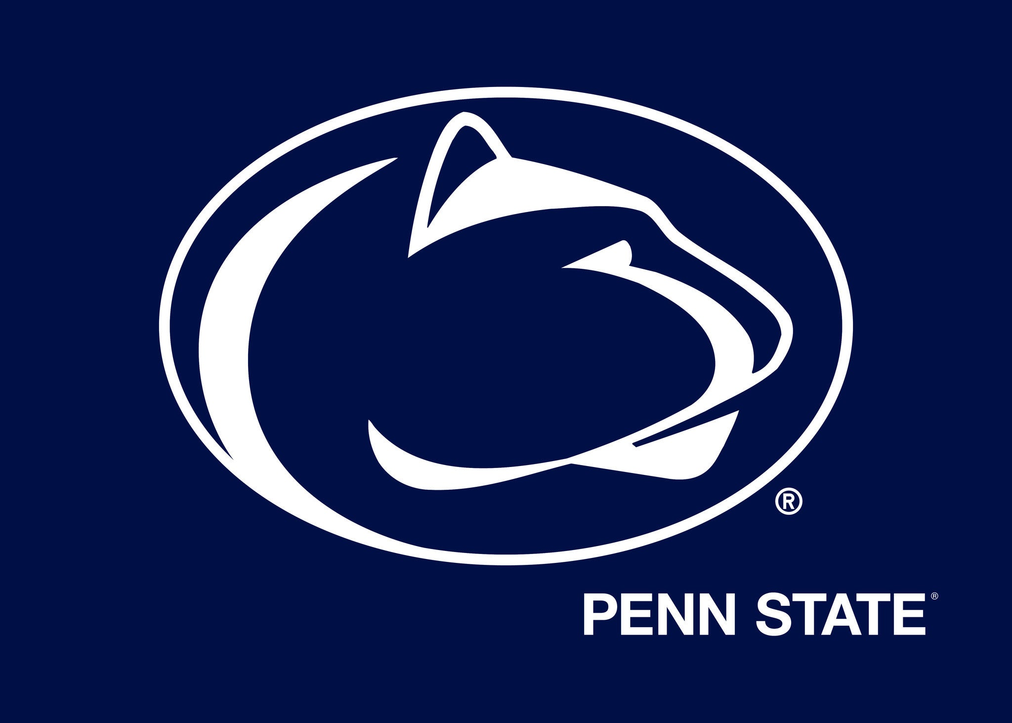 3.5 inch Nittany Lion Paw Print Decal Sticker