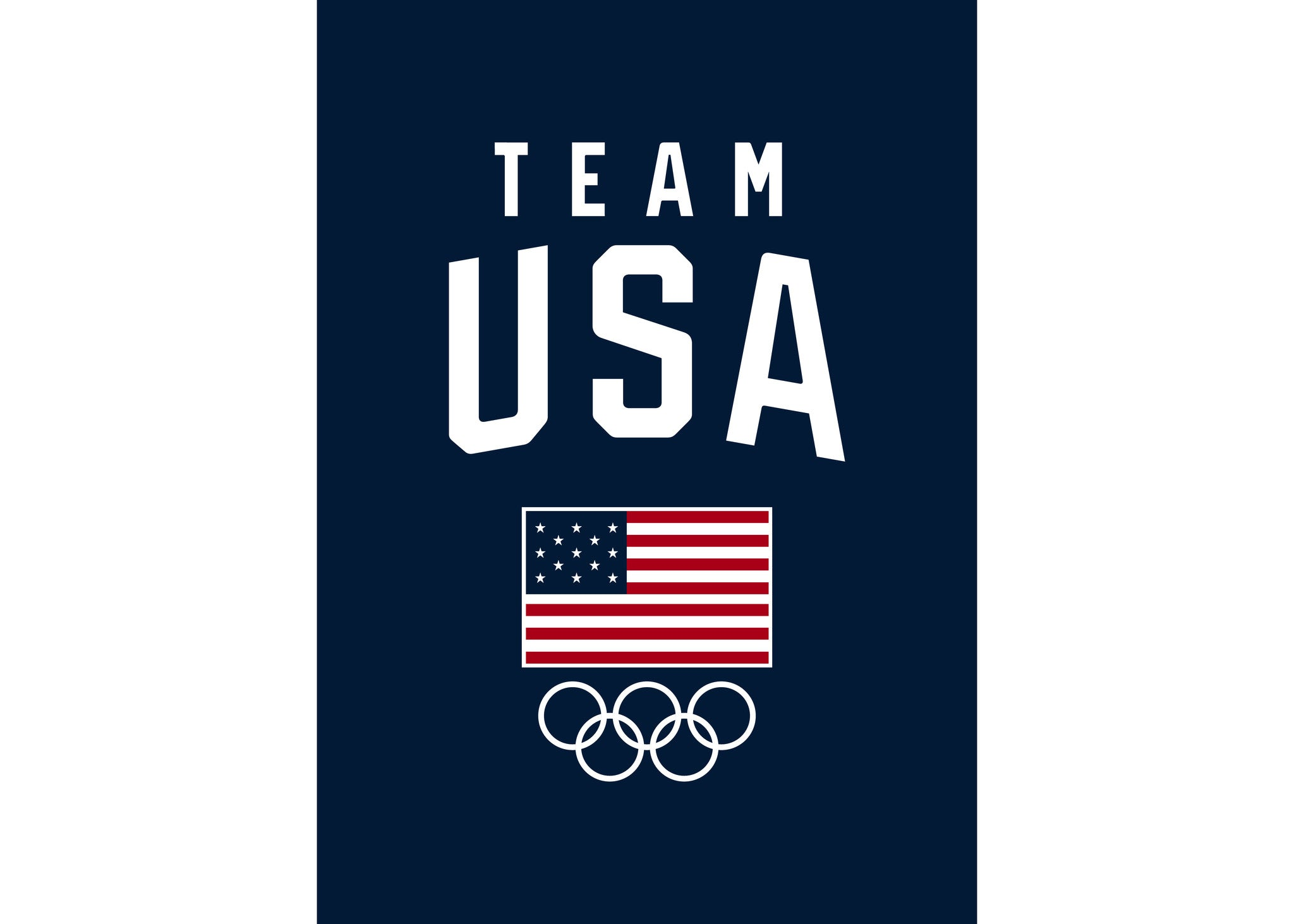 team usa olympics blanket with a purpose