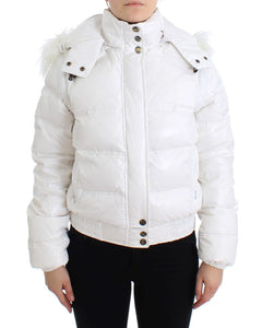 White puffer jacket/vest  - designer apparel and accessories