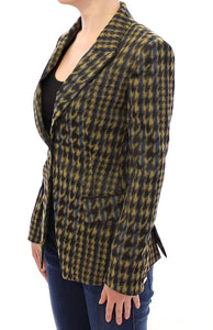 Blazer Jacket Single Breasted  - designer apparel and accessories