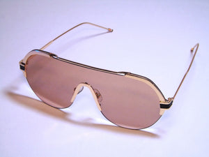 Brown Browline Sunglasses