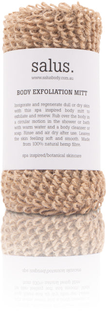 BODY EXFOLIATION MITT