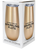 Sparkling Flute – Double Walled – Stainless Steel