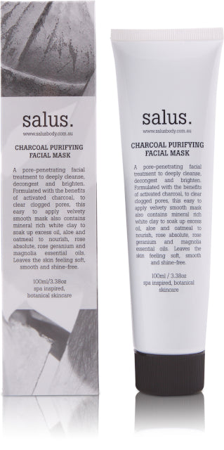 SALUS BODY - CHARCOAL PURIFYING FACIAL MASK