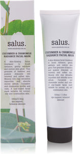 SALUS BODY - CUCUMBER & CHAMOMILE RADIANCE FACIAL MASK