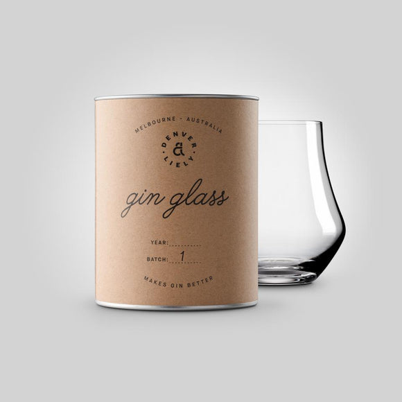 THE GIN glass