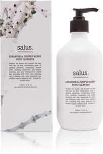SALUS - GERANIUM & JUNIPER BERRY  BODY CLEANSER
