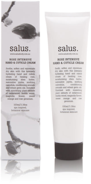 SALUS BODY - ROSE INTENSIVE  HAND & CUTICLE CREAM